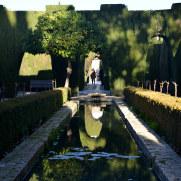 Нижние сады Хенералифе. Альгамбра. Гранада, Испания, 2015