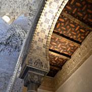 Фрагмент потолка. Дворцы Насридов. Альгамбра. Гранада, Испания, 2015