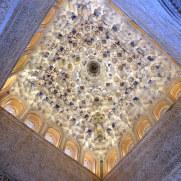 Потолок Зала Королей. Альгамбра, Гранада, 2015