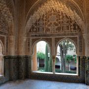 Дворик Линдараха. Альгамбра. Гранада, Испания, 2015