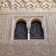 Фрагмент резьбы. Альгамбра. Гранада, Испания, 2015
