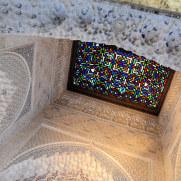 Стеклянный потолок. Альгамбра. Гранада, Испания, 2015
