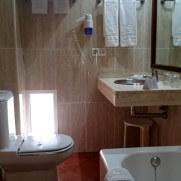 Гостиница Guadalqvivir. Ванная