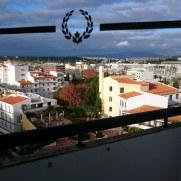 Гостиница Tivoli. Балкон