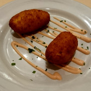 Ресторан Casa Mariano. Рыбные крокеты