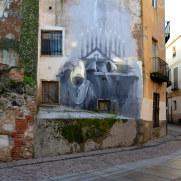 Граффити на улицах города. Самора, Испания, 2016