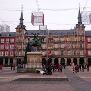 Площадь Майор. Мадрид, Испания, 2016