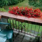 Гостиница Vandenis. Номер 202. Балкон