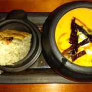Ресторан Lasite. Тыквенный суп