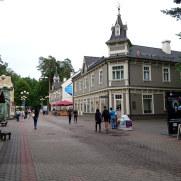 Улица Йомас. Юрмала, Латвия, 2016