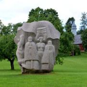 Сад песен. Турайдский музей-заповедник, Латвия. 2016