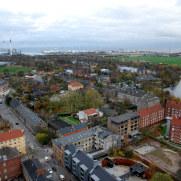 Панорама Копенгагена со смотровой церкви Спасителя, 2010