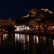 Вид на замок. Аликанте, Испания, 2010