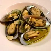 Мидии. Ресторан Brasserie. Фуншал, Мадейра, 2016