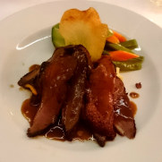 Утиная грудка. Ресторан Brasserie. Фуншал, Мадейра, 2016