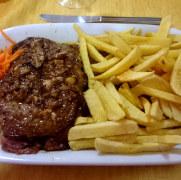 Филе говядины. Ресторан Santa Marta. Лиссабон, Португалия, 2016