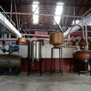 Фабрика по производству рома, Порту да Круш, Мадейра, 2016