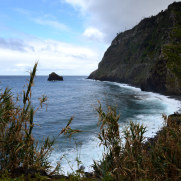 Северное побережье Мадейры в районе Сан Жорже, 2016