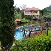 Территория отеля Quinta do Arco. Арку де Сан Жорже, Мадейра, 2016