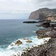 Вид на Камара де Лобуш со смотровой площадки Salão Ideal, Мадейра, 2016