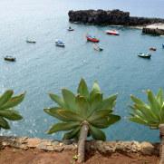 Рыбацкие лодки в Камара де Лобуш. Мадейра, 2016
