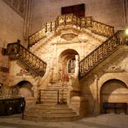 Золотая лестница. Кафедральный собор Бургоса. Испания, 2010