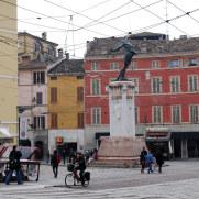 Площадь Filippo Corridoni. Парма, Италия, 2010