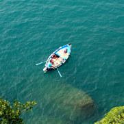 Лодка. Чинкве Терре, Италия, 2011