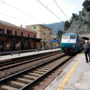 Станция Монтероссо. Чинкве Терре, Италия, 2011