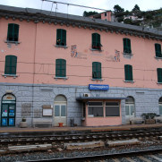 Станция Риомаджоре, Чинкве Терре, Италия, 2011