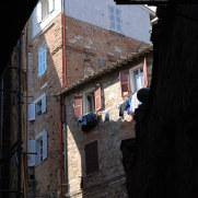 На улицах города Перуджия. Италия 2011