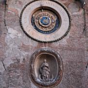 Часовая башня. Мантова, Италия, 2011