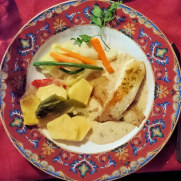 Рыба. Ресторан Beasol. Фуэнхирола, Испания. 2017