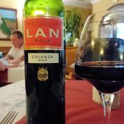 Вино. Ресторан Las Viandas. Фуенхирола, 2017
