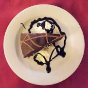Шоколадный торт. Ресторан Las Viandas. Фуенхирола, 2017