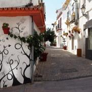На улицах города Эстепона. Испания, 2017.