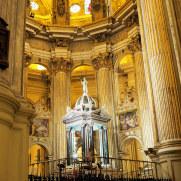 Кафедральный собор Малаги, Испания. 2017