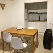 Кухня. Апартаменты 1B. Torre 20. Картейра, 2018