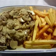 Филе говядины. Ресторан Tulhas. Синтра, 2014