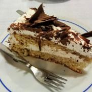 Десерт. Ресторан Tulhas. Синтра, 2014