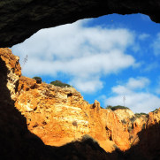 Прибрежные пещеры. Алгарве, 2018