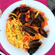 Паста с морепродуктами. La Conchiglia, Сирмионе, 2018