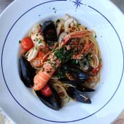 Ассорти морепродуктов. Ресторан La Rosa dei Venti. Стреза, 2018