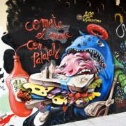 Граффити. Уэска, 2011