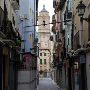 На улицах города Уэска, Испания, 2011