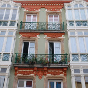 Фасады домов, Овьедо, Испания, 2011