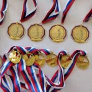 Первенство России 2019 - Медали