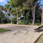 Площадка для петанка. Гостиница Pierre et Vacances Cecilia. Мальорка, 2019