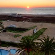 Рассвет с балкона номера 502. Dom Pedro Lagos. Португалия, 2020