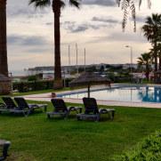 Территория гостиницы Dom Pedro Lagos. Португалия, 2020